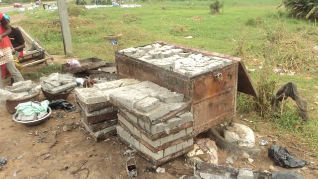 L'un des savons de fabrication traditionnelle appelé « Zooda » utilisé par les Fanicos