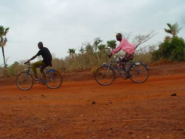 Le vélo est un mode de transport très utilisé en zone rural